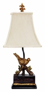 Dimond 91-171 Perching Robin 20 Inch Tall Gold Leaf Finish Table Light