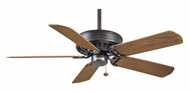 Casablanca 49546D Concentra Blade Optional Brushed Cocoa Finish Ceiling Fan