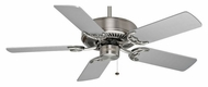 Casablanca 62773 Four Seasons III Brushed Nickel 3 Speed Home Ceiling Fan With Pull Chain
