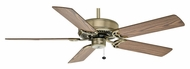 Casablanca 84U4D Four Seasons III 52 Inch Span Antique Brass Ceiling Fan