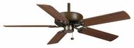 Casablanca 84U73D Four Seasons III Transitional Pull Chain Oil-Rubbed Bronze Ceiling Fan