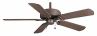 Casablanca 83U46D Four Seasons III Outsider Damp-Rated 52 Inch Span Rustic Iron Ceiling Fan