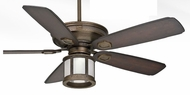 Casablanca C19546K-BL-ADK-RA Heritage 60 Inch Span 4 Speed Brushed Cocoa Ceiling Fan