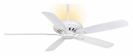 Casablanca 64792 Holliston Snow White Finish 60 Inch Span Home Ceiling Fan With Uplight