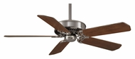 Casablanca 66151 Holliston DC Motor Brushed Nickel Finish Transitional Ceiling Fan