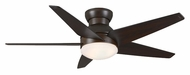 Casablanca 59023 Isotope 52 Inch Span Home Ceiling Fan Light Fixture - Brushed Cocoa