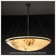 Justice Design 9694 Ring 36  Round Contemporary Pendant Light