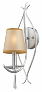 ELK 14080/1 Clarendon Transitional Silver 18 Inch Tall 1 Lamp Wall Light