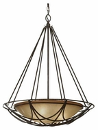 Feiss F26073MBZ El Nido Contemporary Pendant Light