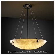 Justice Design 9662 Finial 24  Contemporary Pendant Light