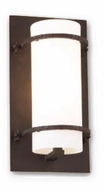 Troy B9353NB Berkshire Contemporary Outdoor Wall Sconce - 12.5 inches tall