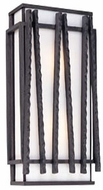 Troy B1311FI Zen Contemporary Outdoor Wall Sconce - 14 inches tall