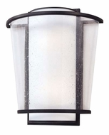 Troy B1352FBZ Bennington Contemporary Outdoor Wall Sconce - 13.5 inches wide