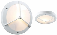 PLC 1859-WHT Cassandra Ceiling/Wall Light Fixture in White