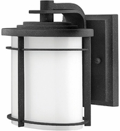 Hinkley 1126-VK-EST Ledgewood 7 1/4 inch outdoor fluorescent wall sconce in Vintage Black