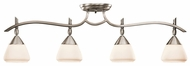 Kichler 7703AP Olympia 32 Inch Long Halogen Monorail Lighting Fixture - Pewter