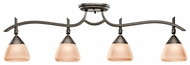 Kichler 7703OZ Olympia Olde Bronze 4 Lamp Monorail Lighting