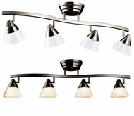 Kichler 10325 34 Inch Long 4 Lamp Monorail Lighting