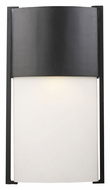 ELK 42288/1 Glendon 20 Inch Tall Contemporary Outdoor Lighting Sconce With Matte Black Finish
