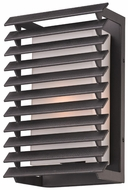 Troy B3301 Shutters Modern 11 Inch Tall Small Outdoor Wall Lamp