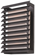 Troy B3303 Shutters Large Forged Iron 17 Inch Tall Outdoor Wall Light