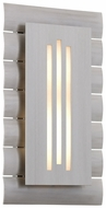 Troy BL3362 Dayton Medium LED Contemporary 16 Inch Tall Exterior Sconce With Optional Photocell