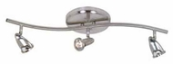 Artcraft AC4833 Rocket 3-light Contemporary Monorail Light with Brushed Nickel