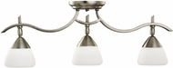Kichler 7779AP Olympia Antique Pewter Modern 3-light Adjustable Rail Light