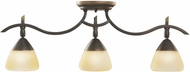Kichler 7779OZ Olympia Olde Bronze Modern 3-light Adjustible Rail Light