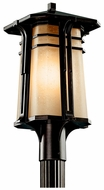 Kichler 49178 North Creek Craftsman 20 Inch Tall Olde Bronze Outdoor Lighting Post Light