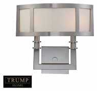 ELK 20151/2 Seven Springs 2 Lamp 14 Inch Tall Satin Nickel Wall Lighting