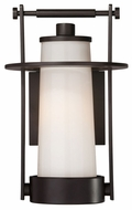 Quoizel UPER8408WT Uptown East River by Sergio Orozco Outdoor Modern Medium Wall Mounted Lamp