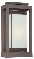 Quoizel PWL8311WT Powell Large Bronze Finish Modern Outdoor Sconce