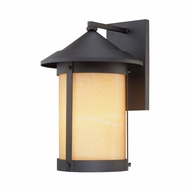 Sutherland Black Finish Cylinder Large Modern Outdoor Sconce