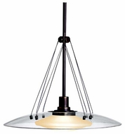 Kichler 2667OZ Structures Contemporary Pendant Light in Olde Bronze