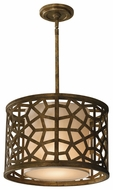 Feiss P1180OBZ Medina One Light Pendant
