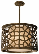 Feiss P1181OBZ Medina Contemporary Four Light Pendant
