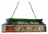 Meyda Tiffany 112803 Personalized Hog's Head 19 Inch Wide Oblong Billiard Light Fixture