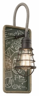 Troy B3651 Relativity Vintage 17 Inch Tall Chalkboard Wall Sconce Light