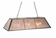 Meyda Tiffany 106959 Tri-Panel Oblong 48 Inch Wide 9 Lamp Island Light Fixture