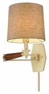 ELK 31322/1 Jorgenson Satin Brass Modern Swing Arm Wall Lamp