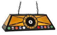 Meyda Tiffany 107191 Personalized Marin's Bar & Grill Oblong Billiard Light - 39 Inches Long