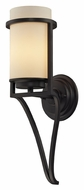 ELK 31313/1 Linden 17 Inch Tall Oiled Bronze Wall Mount Lgihting Sconce