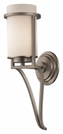 ELK 31303/1 Linden Matte Nickel 17 Inch Tall Wall Light Sconce