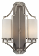 ELK 31304/2 Linden Transitional 20 Inch Tall Wall Lighting - Matte Nickel