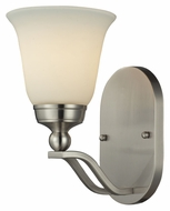 ELK 11500/1 Sullivan Brushed Nickel 10 Inch Tall Wall Light Fixture