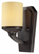 ELK 14091/1 Cordova 10 Inch Tall Transitional Oiled Bronze Wall Sconce Light