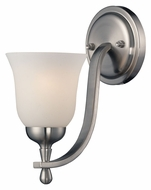 ELK 17140/1 Mayfield 11 Inch Tall Brushed Nickel Wall Light Fixture