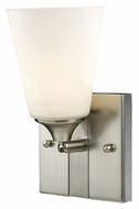 ELK 11274/1 Vilente Transitional Satin Nickel 9 Inch Tall Wall Lighting