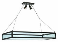 Meyda Tiffany 109699 Glass Tray 49 Inch Wide 2 Lamp Kitchen Island Light Fixture